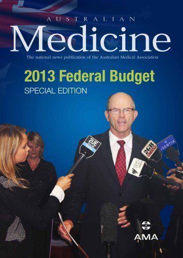 Australian Medicine - 2013 Federal Budget - AMA WA