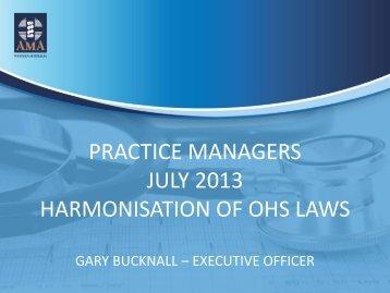 Prac-Managers-Harmon.. - AMA WA