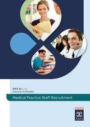 Medical Practice Staff Recruitment - AMA WA