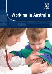 Working in Australia - AMA WA