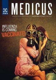 Influenza is Coming – Vaccinate! - AMA WA