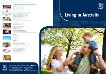 Living in Australia - AMA WA