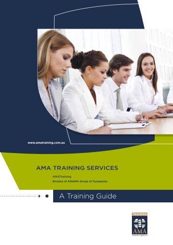 A Training Guide - AMA WA
