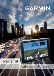 Garmin Navigationssysteme Strasse - Teil 1 - Falch - Bosch Service