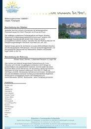 Wohnungsnummer: G06/001 Objekt: Ferienpark ... - Bodendieck
