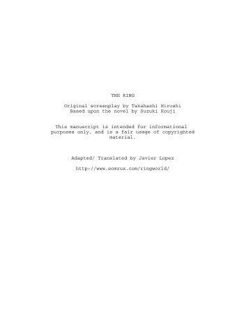 Fight club script pdf