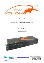 ATLONA HDMI 1.3 Audio De-Embedder AT-HD577 - Screen ...