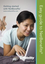 NetBenefits Participant Guide - The Scripps Research Institute