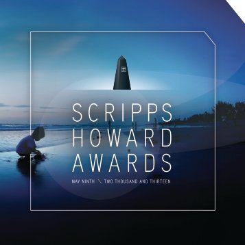 Awards Program Book - The EW Scripps Company