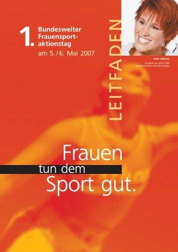 LEITFADEN - Der Deutsche Olympische Sportbund