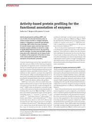 Activity-based protein profiling for the functional annotation of enzymes