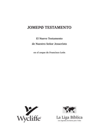 Zoque de Francisco Leon NT - Christus Rex