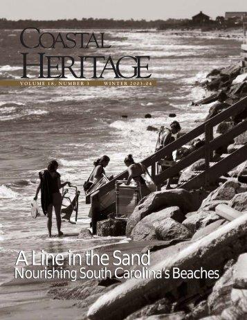 Coastal Heritage – Winter 2003-04 - SC Sea Grant Consortium