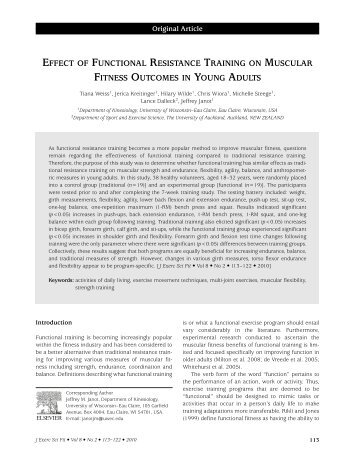 an analysis of the long term resistance training for maintaining elders autonomy Long-term (requiring minutes to days) control involves adjusting total blood volume by restoring normal salt and water balance through mechanisms that to put all the pieces of the baroreceptor reflex together we will trace the reflex activity that compensates for an elevation or fall in blood pressure.