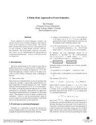 A finite-state approach to event semantics - Temporal ... - CiteSeerX