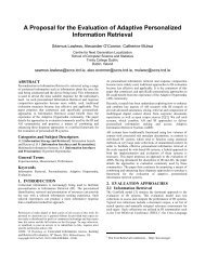 A Proposal for the Evaluation of Adaptive Personalized Information ...