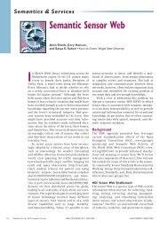 Semantic Sensor Web - School of Computer Science and Statistics