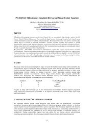 PIC16F84A Mikroislemci Denetimli Bir Sayisal Sinyal Üretici Tasarimi