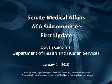 Download Full Presentation - SCDHHS.gov