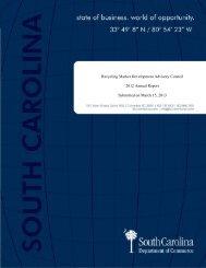 Recycling Market Development Advisory Council Annual Report 2012