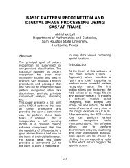 Basic Pattern Recognition and Digital Image Processing Using SAS ...