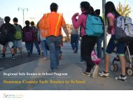Regional Safe Routes to School Program - Sonoma County ...