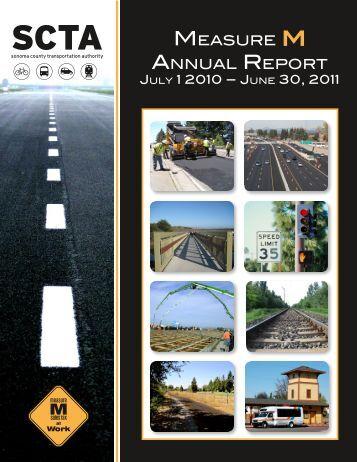 2010-2011 Annual Report to the Public - Sonoma County ...