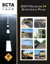 2011 Measure M Strategic Plan - Sonoma County Transportation ...