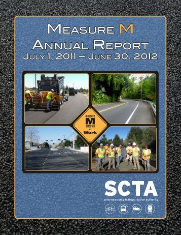 2011-2012 Annual Report to the Public - Sonoma County ...