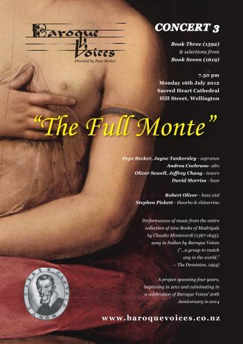 The Full Monte - Baroque Voices