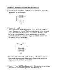 Erläuterung der elektromagnetischen Schwingung 1 ... - Scuffil.de