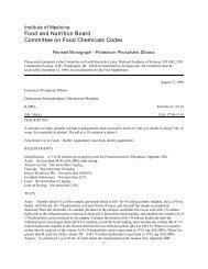 Potassium Phosphate, Dibasic - The National Academies Press