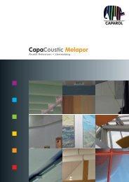 CapaCoustic Melapor - Caparol España
