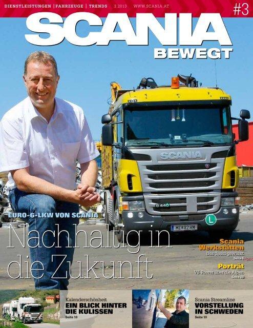 BEWEGT - Scania Österreich Ges.mbH