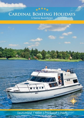 Der Katalog als pdf zum Download - Cardinal Boating