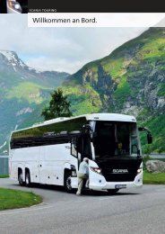 Scania Touring - Willkommen an Bord