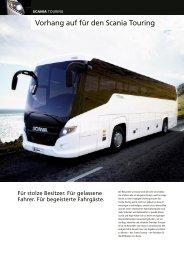 Vorhang auf für den Scania Touring