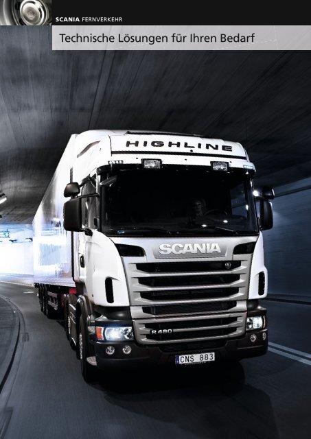Technische Lösungen für Ihren Bedarf - Scania