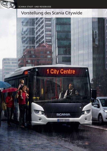 und Reisebusse - Vorstellung des Scania Citywide