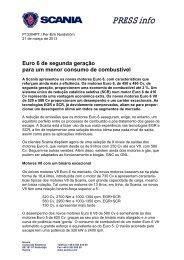 Scania press release