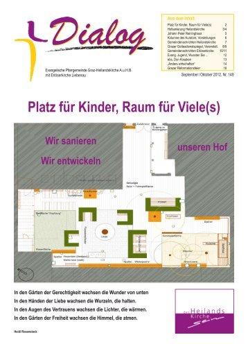 Dialog_September 2012.pdf - Evangelische Pfarrgemeinde Graz ...