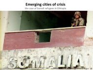 Emerging cities of crisis - SCUPAD