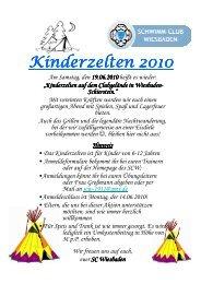 Einladung und Anmeldung zur Zeltnacht 10.06.2009