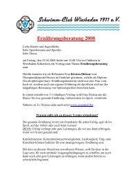 Anschreiben Termin Ernährungsberatung 25.04.2008 - Kirsten Dickau