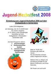 Herbstfest 2008 SC Wiesbaden