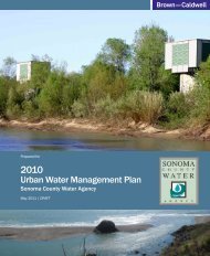 Urban Water Management Plan - Sonoma County Water Agency ...