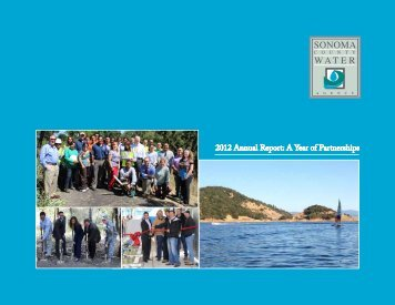 2012 Annual Report - Sonoma County Water Agency