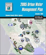2005 Urban Water Management Plan - Sonoma County Water ...