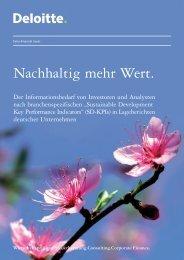 Nachhaltig mehr Wert. - Axel Hesse