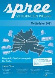 STUDENTEN PRESSE - SD Media Services